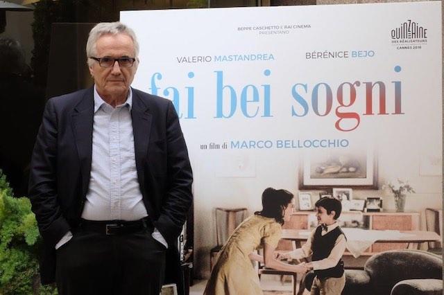 """Marco Bellocchio porta """"Fai bei sogni"""" al Tuscia Film Fest"""