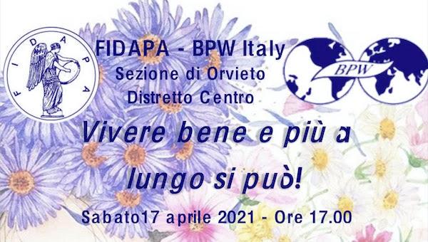 """""""Dal campo alla tavola: conosciamoli meglio"""". Incontro con Silvia Aquili per Fidapa Bpw Italy"""