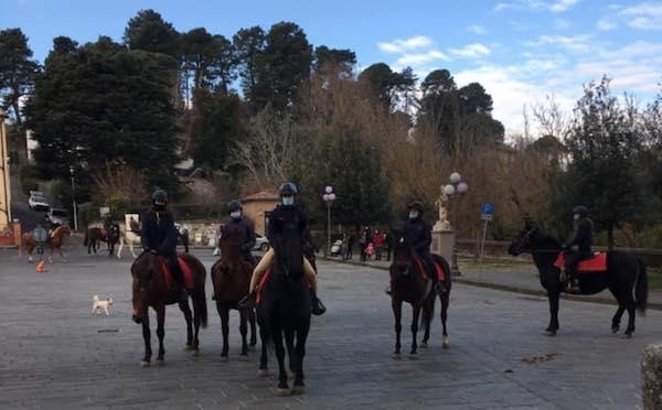 """Benedizione dei cavalli in piazza. """"Enorme la compagnia degli animali per chi è solo"""""""