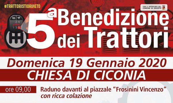 Quinta edizione a Ciconia per la Benedizione dei Trattori