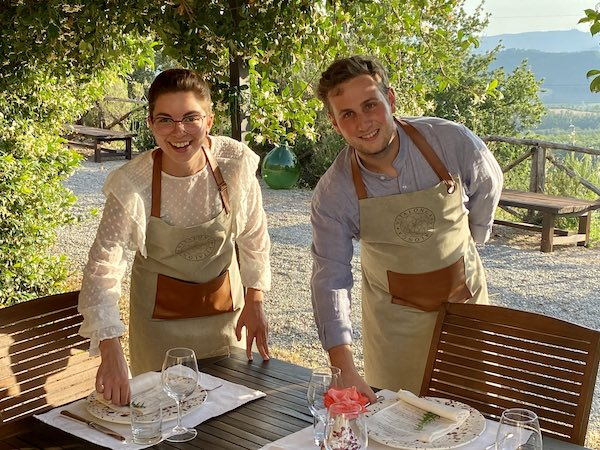 """Osteria di Vitalonga, due giovani protagonisti e il """"gusto"""" del coraggio"""