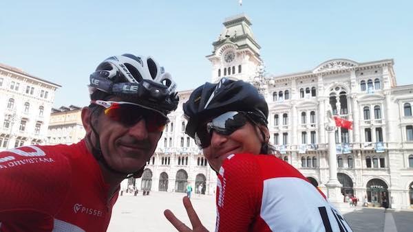 Viaggio con bici in autonomia per attraversare l'Arco Alpino da Aosta a Trieste