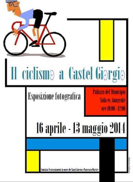 """Fino al 13 maggio, in mostra """"Il ciclismo a Castel Giorgio"""""""