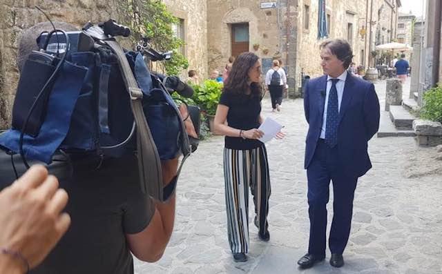 Guerra alla plastica, Civita di Bagnoregio su Tv7 lancia un messaggio al mondo