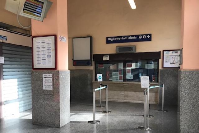 Rassicurazioni e risorse umane in arrivo per la Biglietteria della Stazione