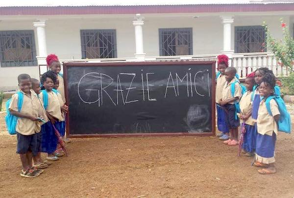 Cena di beneficenza per dare un futuro ai piccoli del Congo