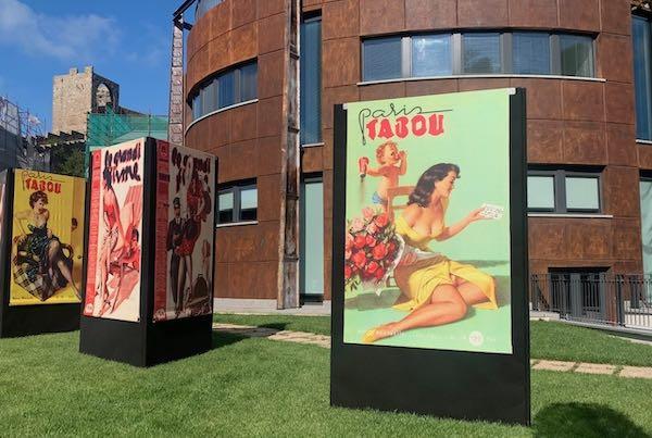 Mostra (all'aperto) per le donne illustrate da Boccasile, tra propaganda, réclame ed eros