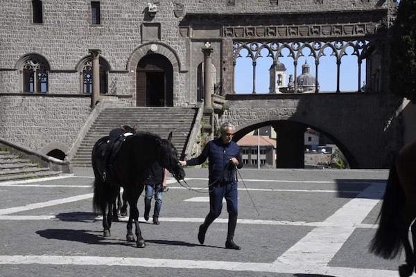 """A Viterbo le riprese del documentario televisivo""""The Journey Andrea Bocelli"""""""