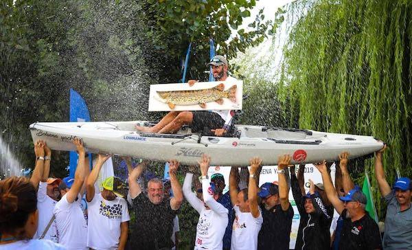 Weekend di emozioni con il Campionato Interlaghi Kayak Fishing