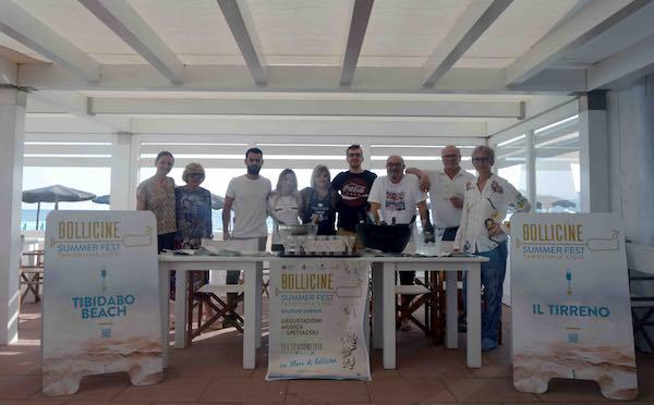 """""""Una giornata da mare"""" con il Tarquinia Lido Bollicine Summer Fest"""