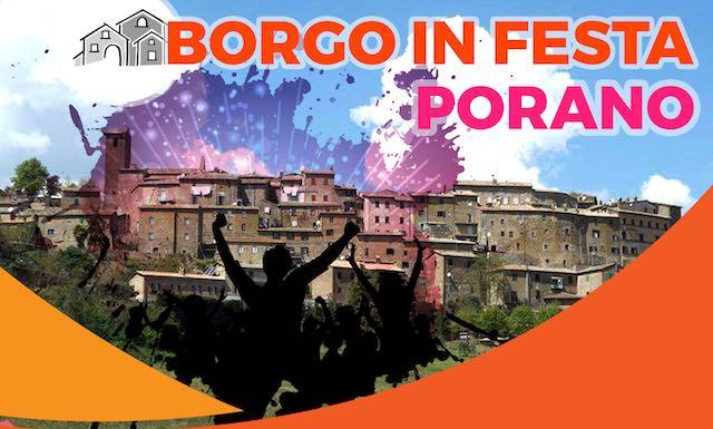 """Musica e divertimento all'edizione 2017 di """"Borgo in Festa"""""""