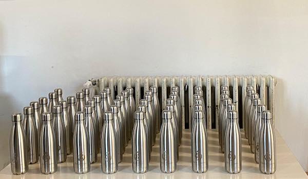 Consegnate oltre 1500 borracce in acciaio per alunni e docenti