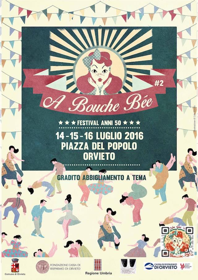 """""""A Bouche Bée"""". Street festival anni '50 in Piazza del Popolo"""