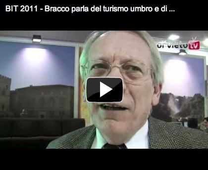 Cosa si è detto alla BIT 2011? L'Assessore regionale Bracco parla del turismo umbro e di Orvieto