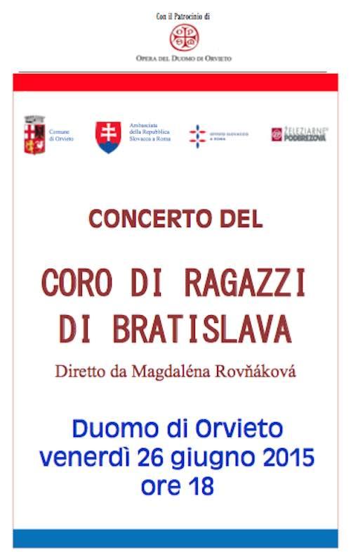 Intesa di amicizia e cooperazione tra Comune e Ambasciata della Repubblica Slovacca in Italia