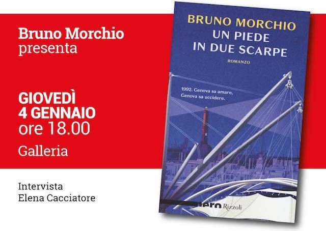 "Bruno Morchio presenta il noir ""Un piede in due scarpe"""