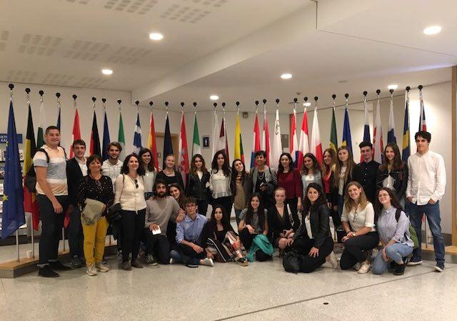 """Trentacinque studenti del Majorana a Bruxelles. """"Mai vista l'Europa così da vicino"""""""