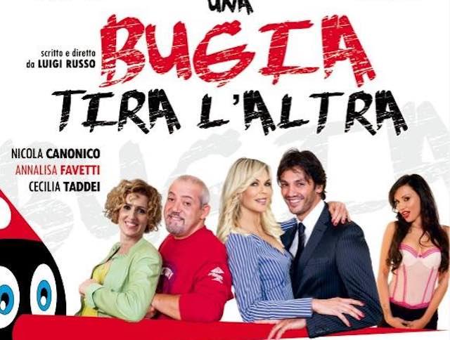 """Risate garantite al Teatro """"Lea Padovani"""" con """"Una bugia tira l'altra"""""""