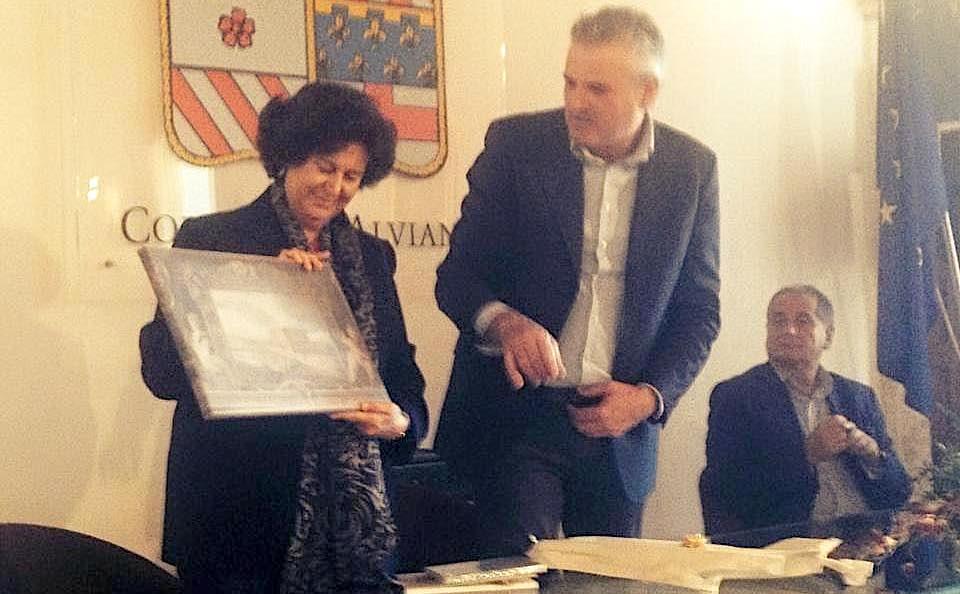 Il sottosegretario del Mibact Ilaria Borletti Buitoni in visita al Castello di Alviano