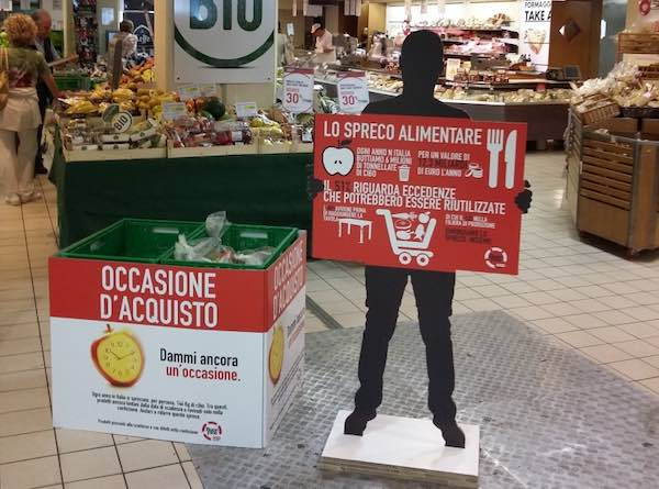 Coop Centro Italia in campo contro lo spreco alimentare