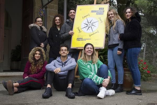 """""""Rights Crossing. Passa il Diritto"""" al Palazzo dei Sette con gli studenti dell'Iisacp"""