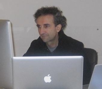 Fabrizio Caccavello alla tavola rotonda sul diritto d'autore in rappresentanza di IWA Italia