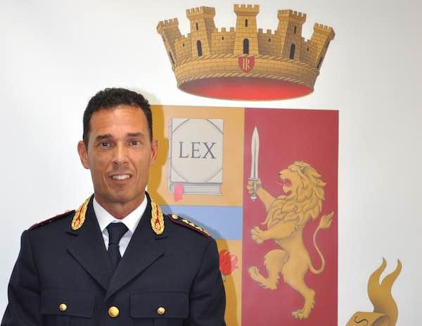 Questura di Terni, Roberto Caffio è il nuovo dirigente della Divisione Anticrimine