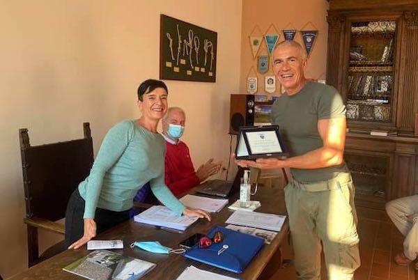 CAI Orvieto è l'ottava Sezione in Umbria. Il riconoscimento all'ADRU nella Sede Regionale