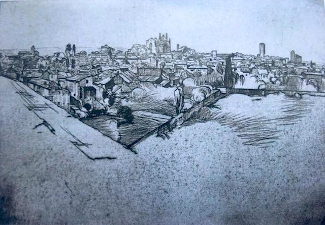 """""""Carlo Cainelli. Impressioni orvietane"""" in mostra a Palazzo Coelli"""