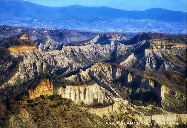 Comune e Asd Calanchi Sessantatre insieme per aprire ai turisti la valle sotto Civita