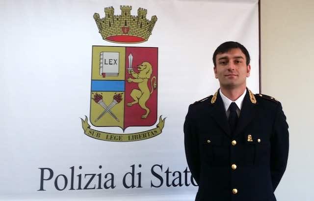 Nuovo dirigente alla Squadra Mobile di Terni, arriva il commissario capo Davide Caldarozzi