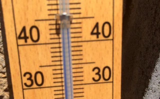 Orvieto è ancora la città più calda dell'Umbria. Toccati i 41,5 gradi
