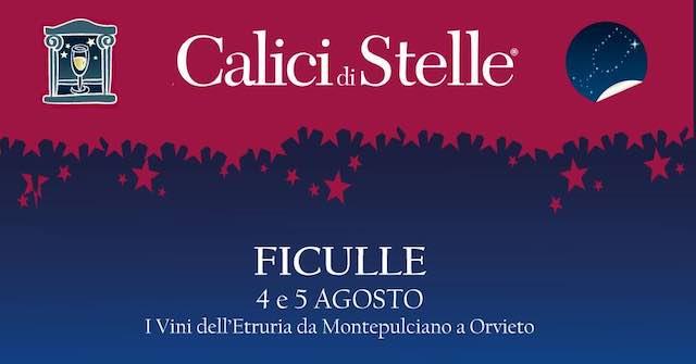 Calici di Stelle 2018, le eccellenze del vino da Montepulciano a Orvieto si incontrano a Ficulle