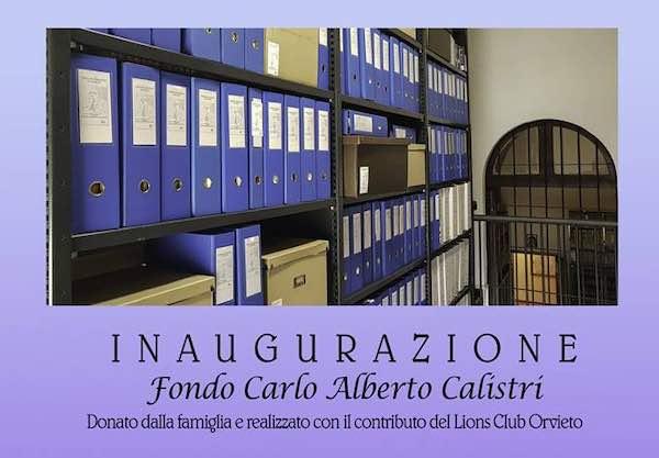 All'Archivio Vescovile si inaugura il Fondo Carlo Alberto Calistri