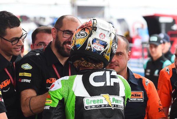 Maurizio Cambarau da meccanico a responsabile tecnico del team