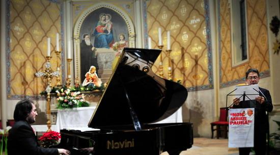 Sincera commozione a Monterubiaglio per il pomeriggio dedicato a Giovanni Paolo II