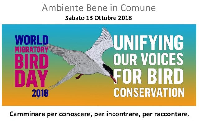 """""""Camminata della Salute"""" per la Giornata Mondiale degli Uccelli Migratori"""
