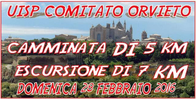 """Corri...amo Orvieto"". Prima prova del XI Criterium Uisp 2016"