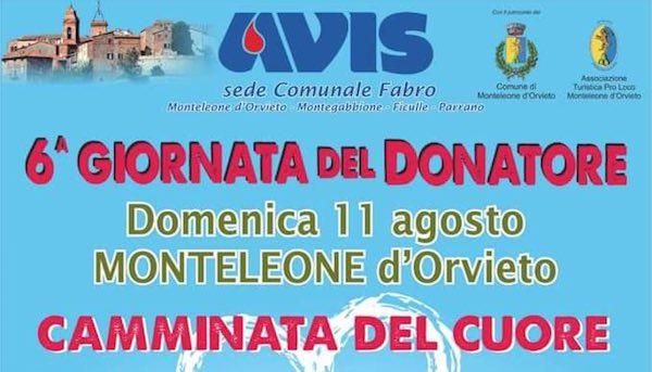 """""""Camminata del Cuore"""" per la sesta Giornata del Donatore Avis"""