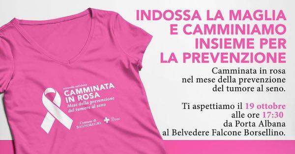"""""""Camminata in rosa"""", da Porta Albana a Civita per la prevenzione del tumore al seno"""