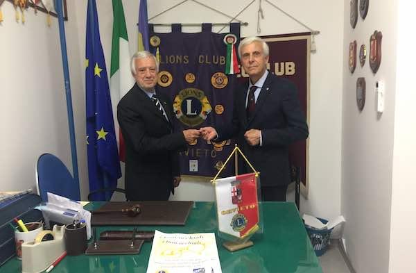 """""""Passaggio della Campana"""". Paolo Calistri, nuovo presidente del Lions Club"""