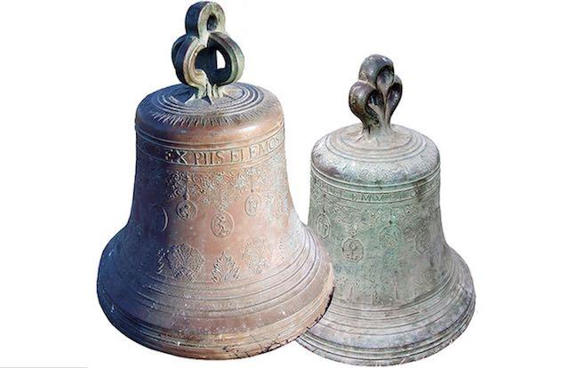 """Canino celebra le campane """"ritrovate"""". Riportate alla luce le due """"sorelle"""" del 1699"""
