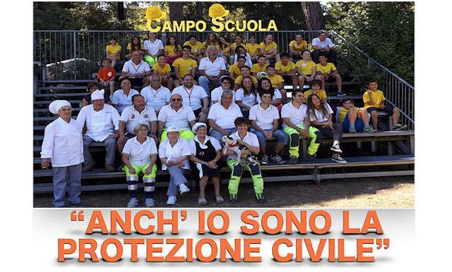 """""""Anch'io sono la protezione civile"""". Campo Scuola a Villa Paolina insieme ai giovani di Norcia"""
