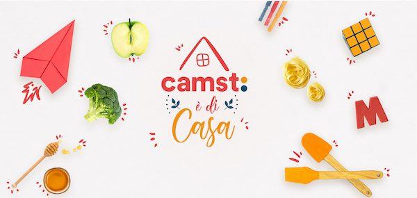 """Nasce """"Camst è di casa"""". Online menu, ricette, giochi e indicazioni nutrizionali"""