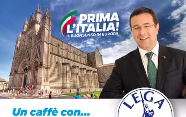Un caffè con Stefano Candiani. Il sottosegretario incontra imprenditori e commercianti