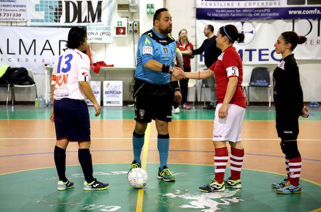 Orvieto FC, le ragazze del futsal si difendono contro il potente Real Cannara
