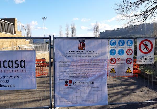 Campo Sportivo di Sferracavallo, consegnato il cantiere alla ditta esecutrice