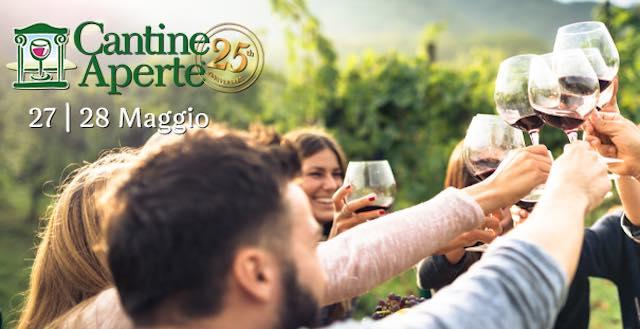 """Cantine Aperte"" compie 25 anni. Festa ""open air"" insieme ad Airc nelle vigne"