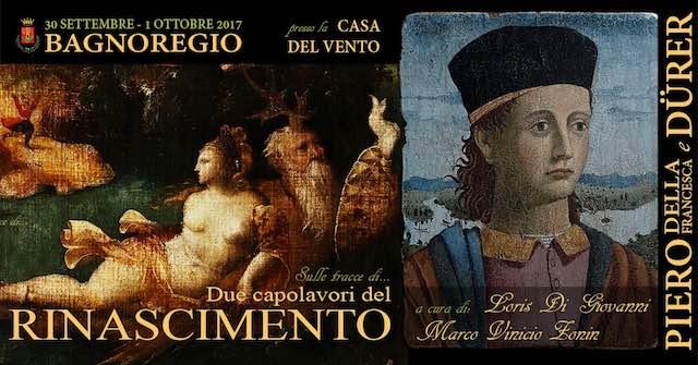 In mostra alla Casa del Vento due capolavori del Rinascimento