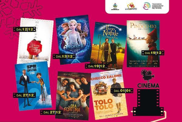 """Film di Natale in trasferta, """"Temporary Cinema"""" alla Casa del Giovane"""